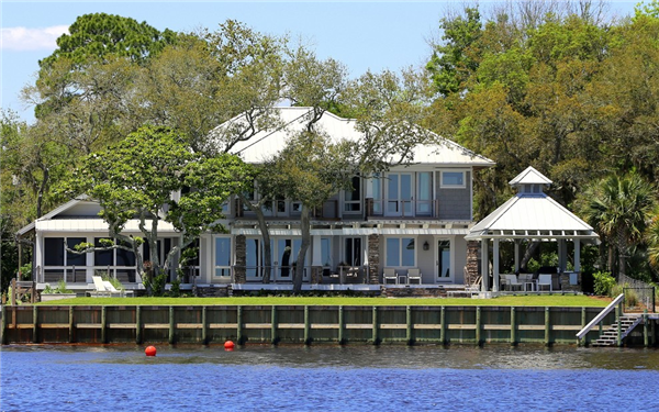 Custom Waterfront Home